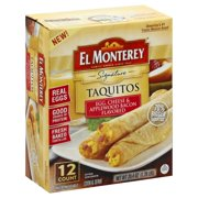 El Monterey Em Egg Bacon Cheese Taquitos