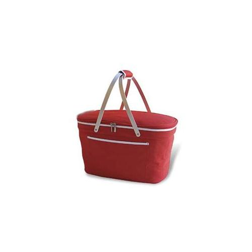 Picnic At Ascot 400-R Collapsible Basket Cooler- Red