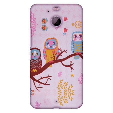 HTC Bolt Case, HTC 10 Evo Case, Premium Handcrafted Printed Designer Hard ShockProof Case Back Cover for HTC 10 Evo, HTC Bold - Owls On Branch, Ultra Slim Fit, Thin Hard Cover (Bold Branches)