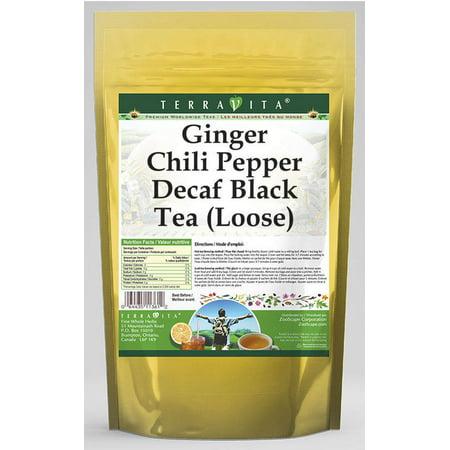 Ginger Chili Pepper Decaf Black Tea (Loose) (8 oz, ZIN: 545751)