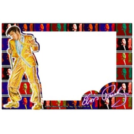 Precious Kids 55003 Elvis Glass picture frame ()