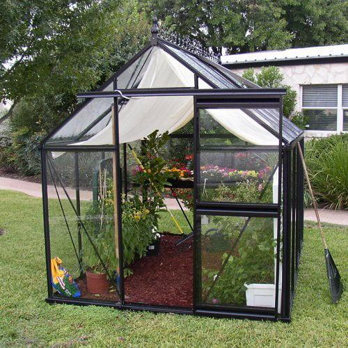 Janssens Junior Victorian 7.75 x 10.1-Foot Greenhouse