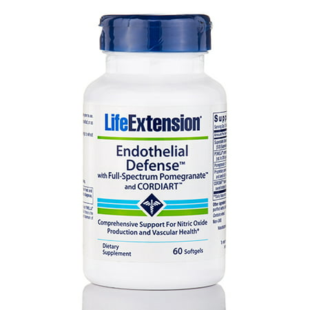 Endothelial Defense with Full-Spectrum Pomegranate and Cordiart - 60 Softgels