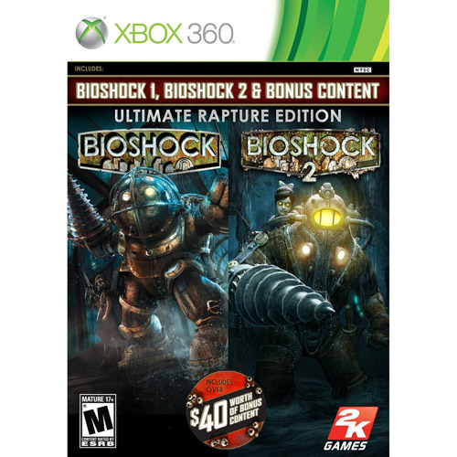Image of bioshock ultimate rapture edition - xbox 360