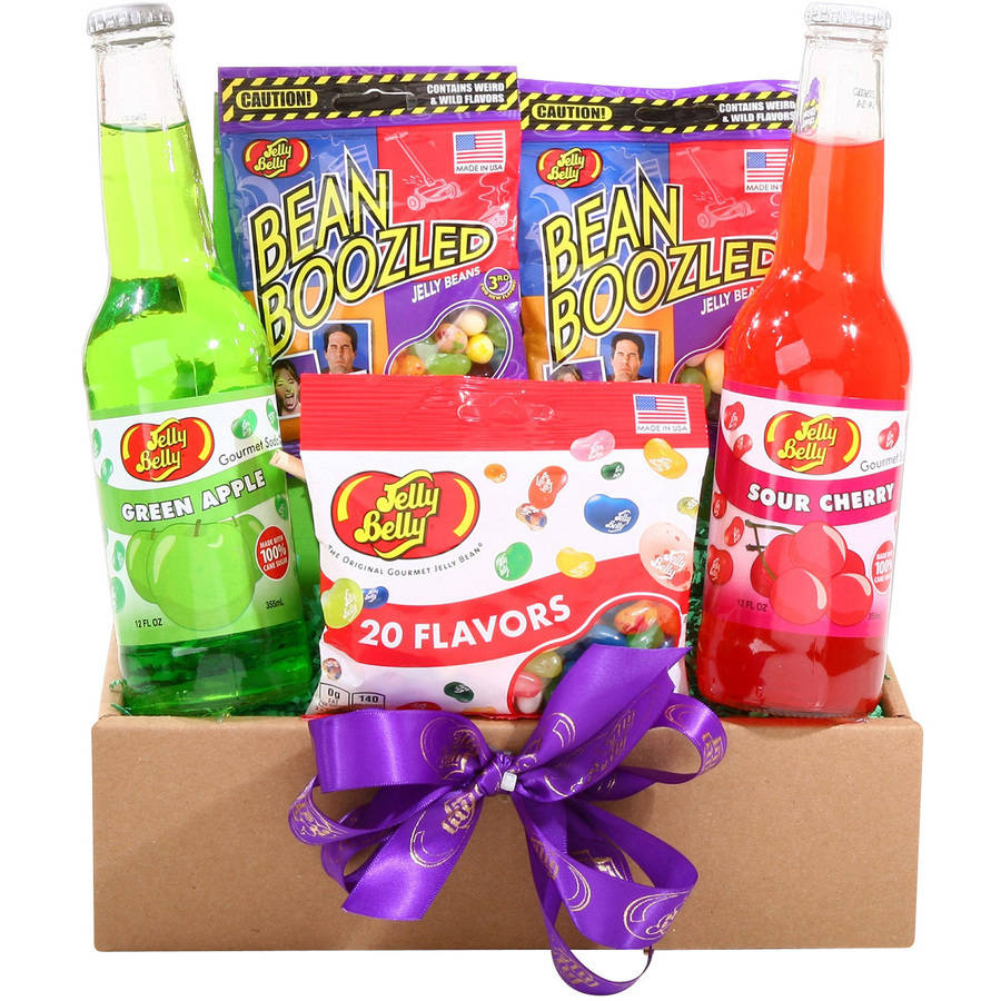 Alder Creek Holiday Assortment of Jelly Belly Treats Gift Set, 5 pc