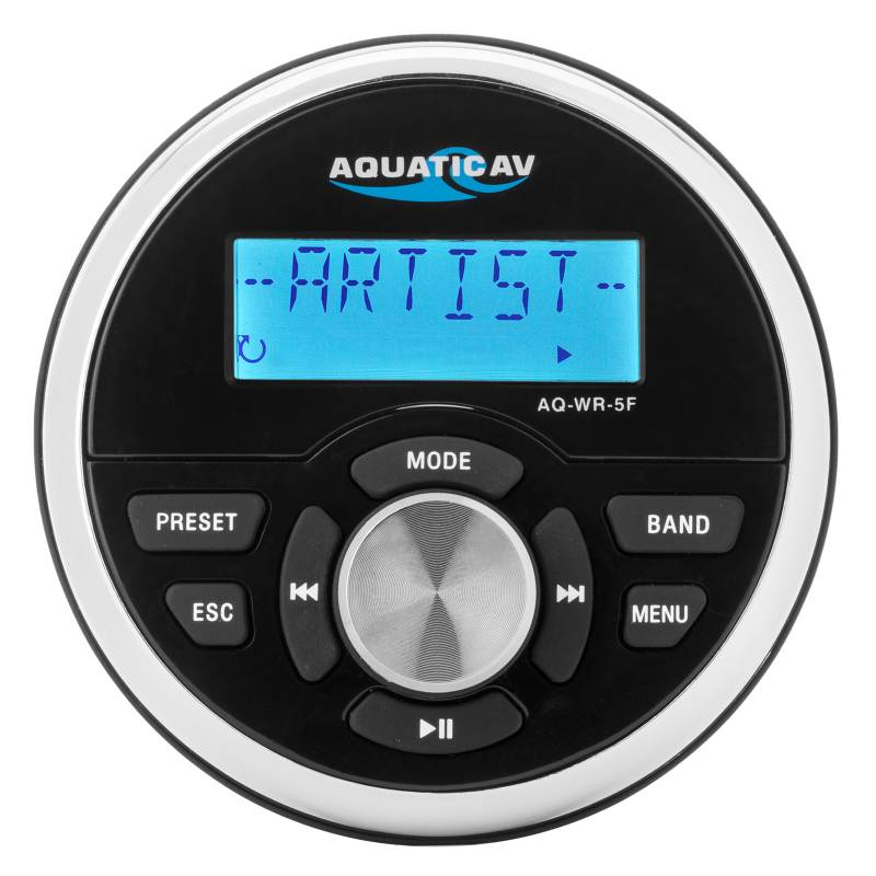 Aquatic AV Wired Marine Remote Control Gauge AQ-WR-5F