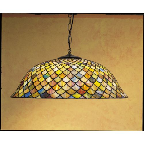 Meyda Tiffany 30455 Stained Glass   Tiffany Down Lighting Pendant from the Tiffa by Meyda Tiffany