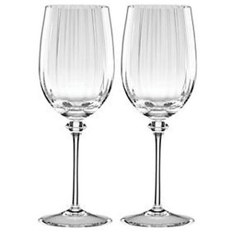 Reed Barton Thomas OBrien, Austin Optic Glass White Wine S/2 ()