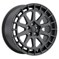 BLACK RHINO BOXER 15x7 +15 GUNBLACK Wheel Rim (QTY: 1)