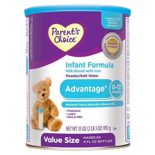 Parent's Choice - Advantage 0-12 Months Infant Formula, 35 oz