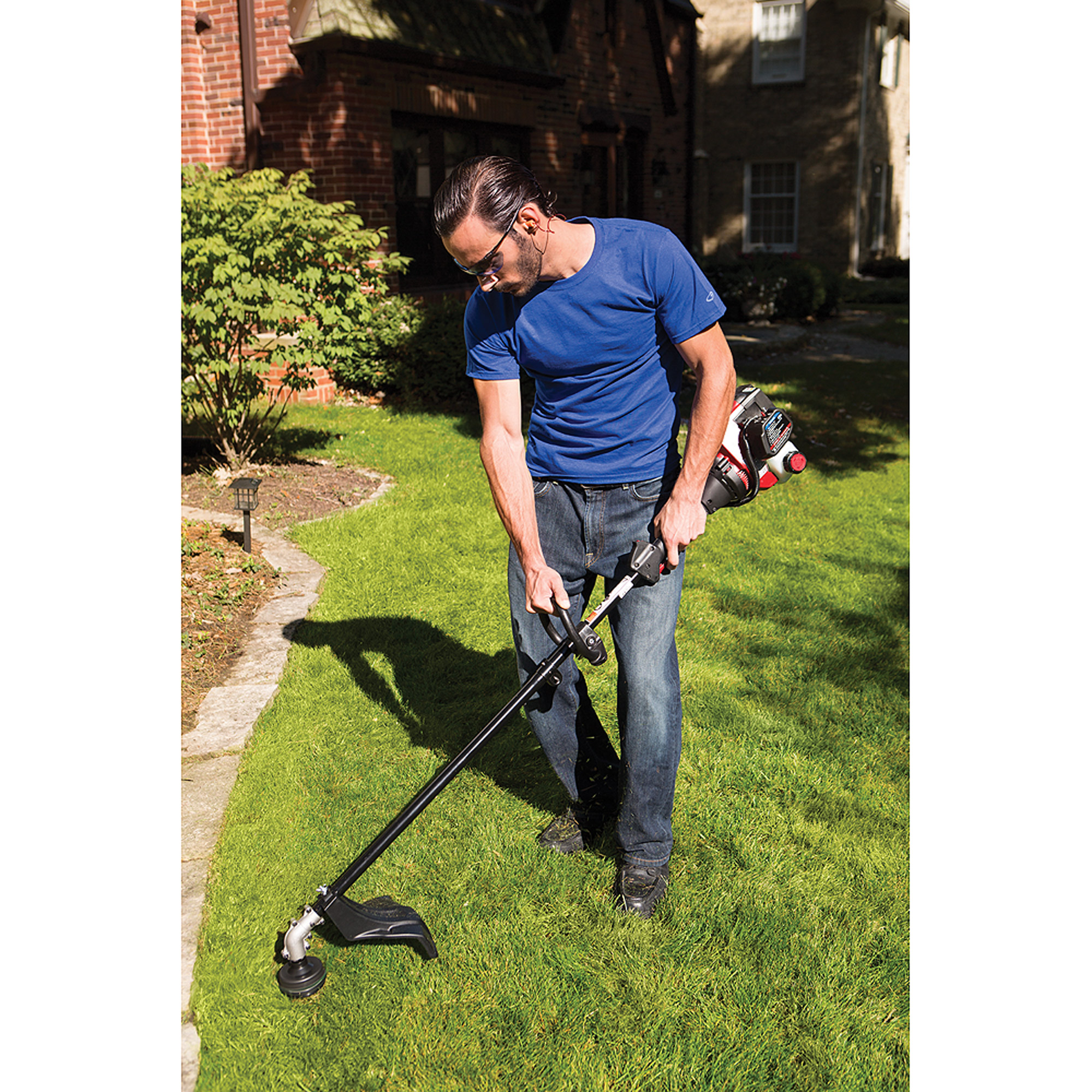 Murray Lawn Trimmers : Murray quot cc cycle straight shaft gas string trimmer