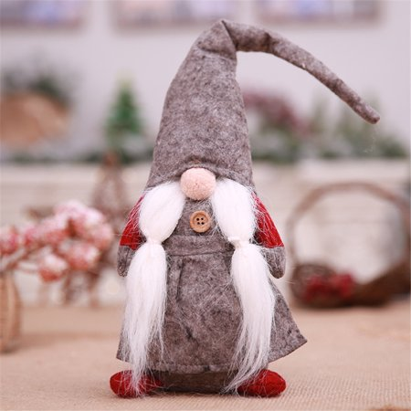Muxika 17 Inches Handmade Christmas Gnome Swedish Figurines Holiday Decoration (Figurine Holiday Decoration)