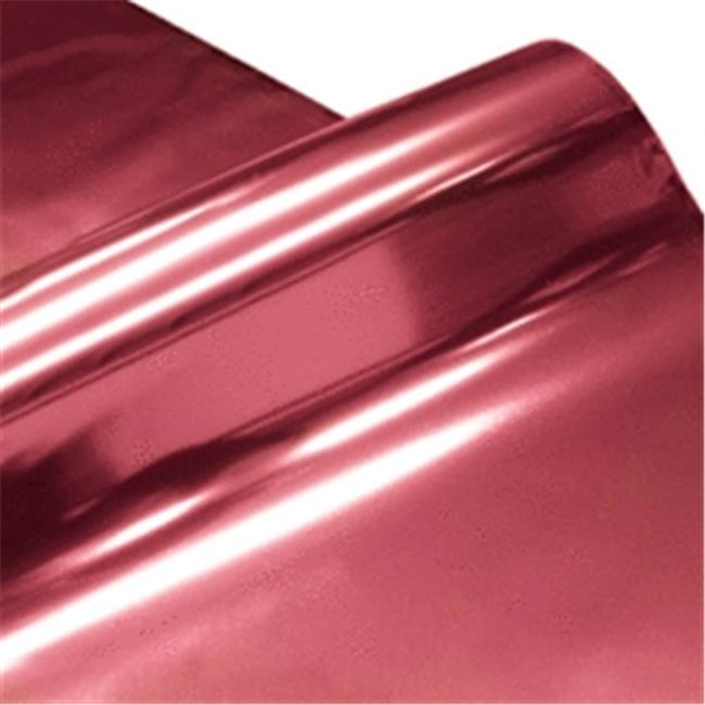 Cindus 78691 30 in. x 5 ft. Cellophane Wrap Roll - Metallic Hp & Silver