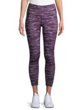 Layer 8 Women's Active 7/8 Camo Printed Leggings