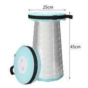 TOYFUNNY Camping Goods Solid Portable Telescopic Stool Multifunctional Folding Stool