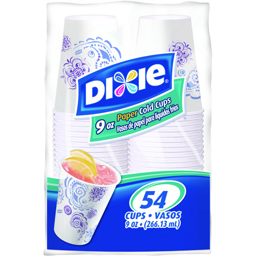 Dixie 9-oz. Cold Cups, 54 count