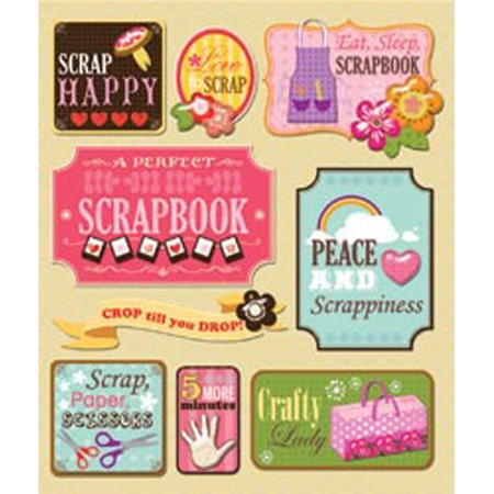 Life's Little Occasions Sticker Medley-Scrapbooking - K&company Scrapbook