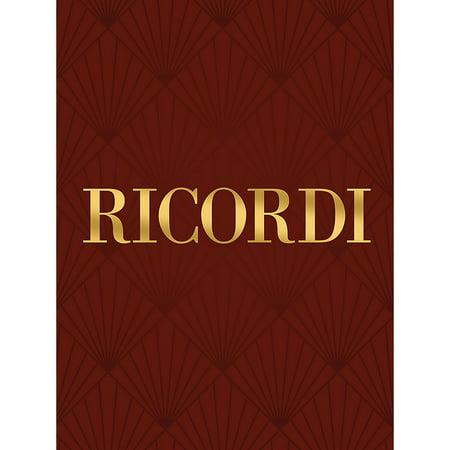 Bellini Series (Ricordi Qui la voce (from I Puritani) (Voice and Piano) Vocal Solo Series Composed by Vincenzo Bellini )