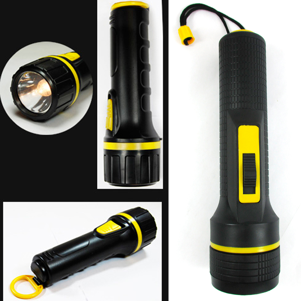 Outdoor Emergency Flashlight Bulb Torch Lamp Light Car Camping Outdoor Black New