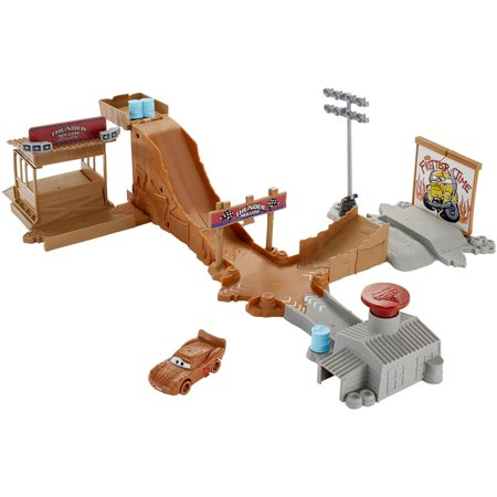 - Disney Pixar Cars 3 Thunder Hollow Challenge Playset