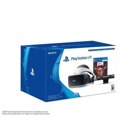 Sony PlayStation VR DOOM VFR Bundle, 3002490 (Playstation 2 Eye Toy Play)