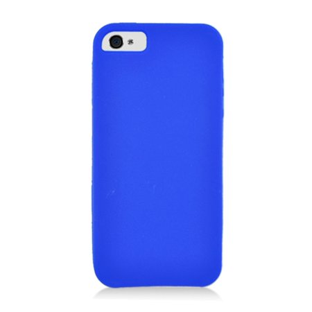 iPhone 5S case, iPhone 5C case, by Insten Rubber Silicone Soft Skin Gel Case Cover For Apple iPhone 5/5C/5S ()