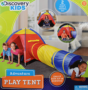 Discovery Kids Dk Adventure Tent & Play Tents - Walmart.com