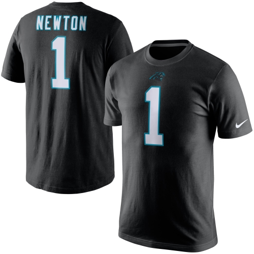 Cam Newton Carolina Panthers Nike Player Pride Name & Number T-Shirt - Black