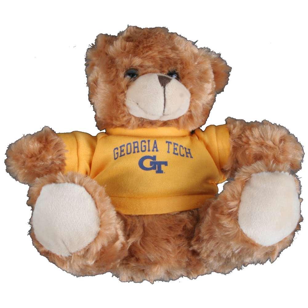 Georgia Tech Yellow Jackets Stuffed Bear Walmart Com