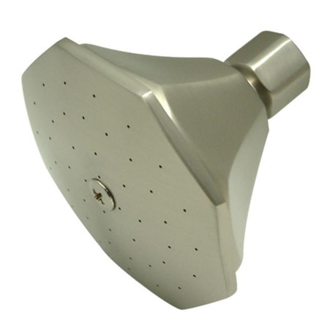 4 Inch Diameter Brass Shower Head - Satin Nickel