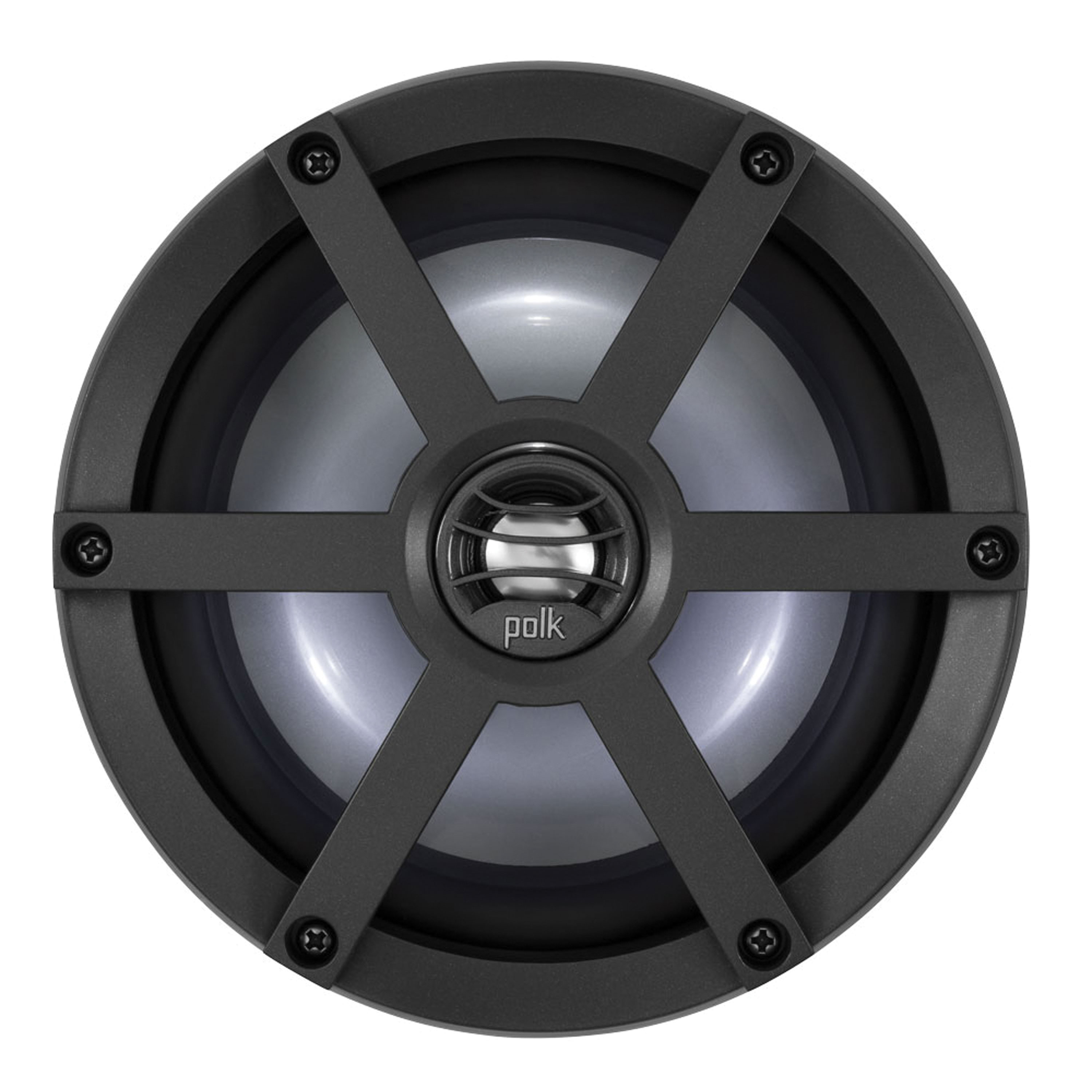 Polk UM650SRTL Coaxial Speaker Kit with Sport Grille and LED Light Ring - 6.5""
