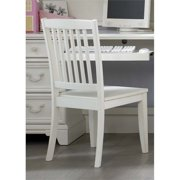 Liberty Furniture Arielle Student Desk Chair in Antique White