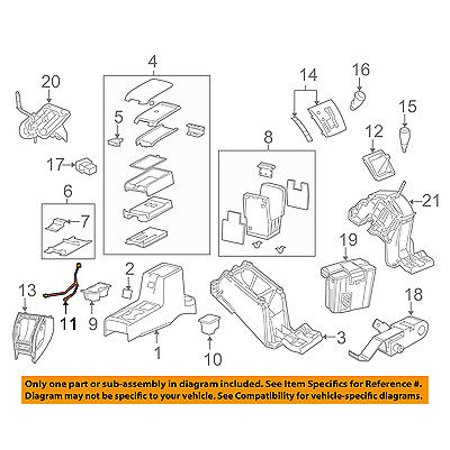 jeep chrysler oem 09 15 patriot front console wire harness. Black Bedroom Furniture Sets. Home Design Ideas