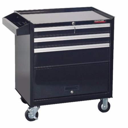 Craftline PC-W26-3PX Roller Wagon Tool Cabinet - 3