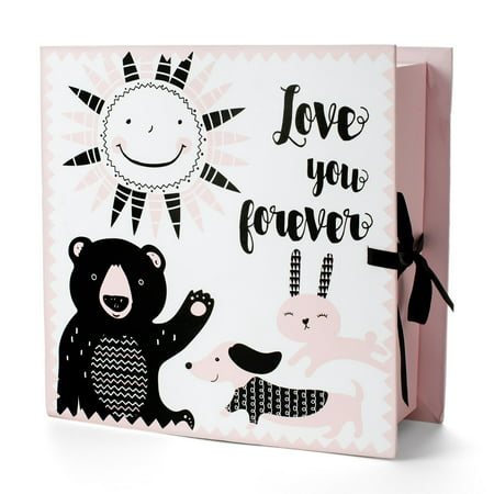 Tricoastal Design- Printed Baby Keepsake Box With
