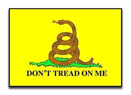 Don/'t Tread On Me Gadsden Magnet Car Fridge FAST USA SHIPPING
