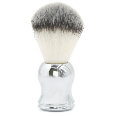 Chrome Handle Soft Badger Hair Shaving Brush for Men Father Gift Barber Tool