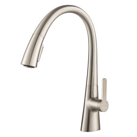Kraus Nolen Kitchen Sink Faucet w/ Stainless Steel Finish (OPEN BOX) - image 5 de 5