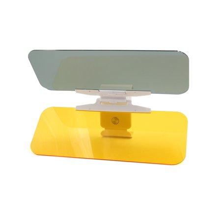 Auto Car Anti-glare Sun Visor Mirror HD Flip Down 2 in 1 Day Night Vision Shield (Auto Sun Visors)
