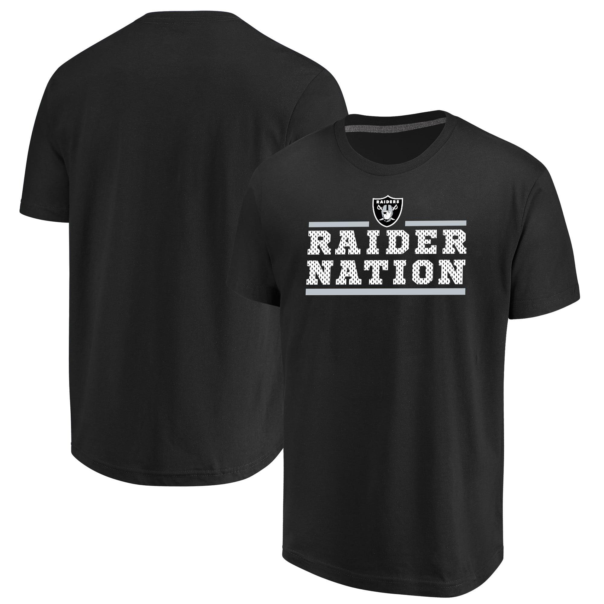 Oakland Raiders Majestic Safety Blitz T-Shirt - Black