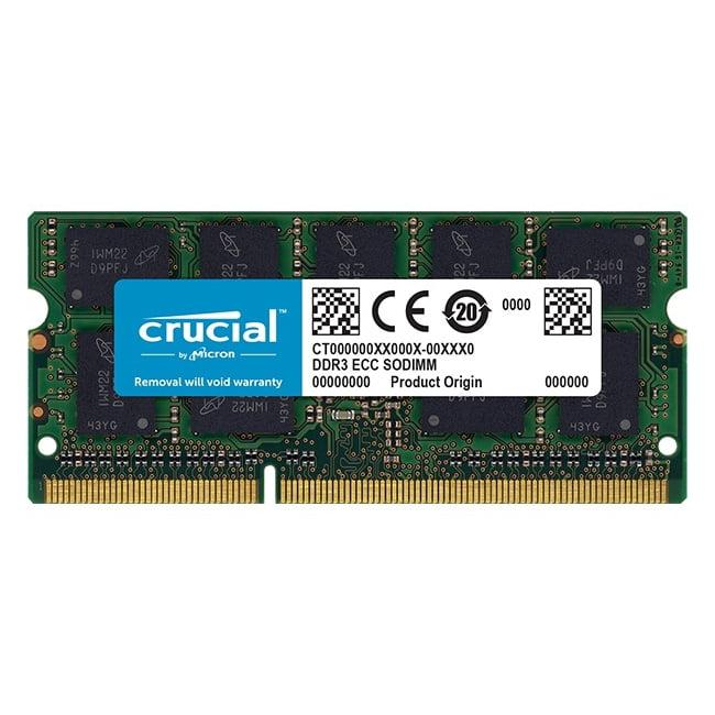 Crucial 4GB DDR3L SDRAM 1866 MHz 1.35V 204-pin SoDIMM Memory Module for Mac