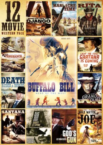 12-Movie Western Pack ( (DVD)) by ECHO BRIDGE ENTERTAINMENT