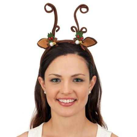 Reindeer Antler Headband - Reindeer Headband