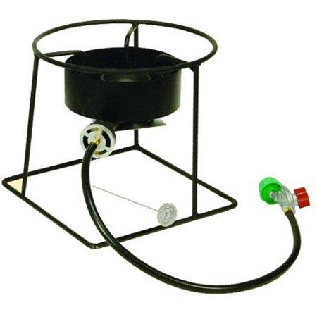King Kooker 12-Inch Outdoor Propane Burner with Stand