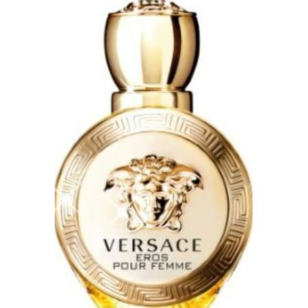 Versace Eros Pour Femme Eau De Parfum Natural Spray, Perfume For Women, 3.4 Fl Oz (Versace Sonnenbrille Fall)