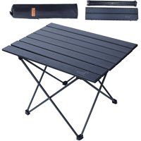 NiceC Folding Table, Portable Camping Table with Carry Bag for Outdoor, Indoor, Office(Medium)