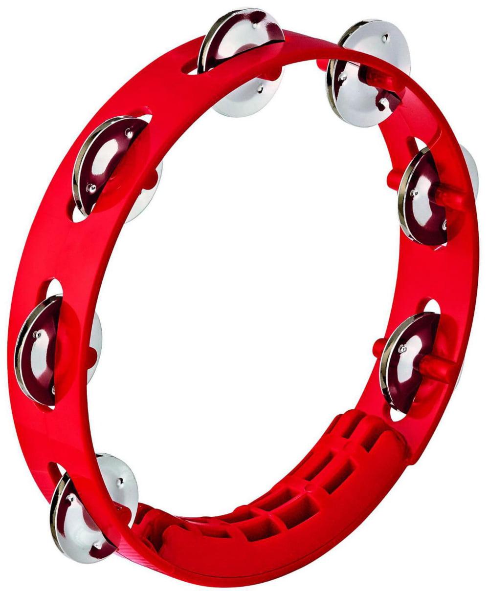 Compact ABS Plastic Handheld Tambourine by Nino