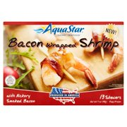 Aqua Star Smart Seafood Bacon Wrapped Shrimp, 13 count, 7 oz