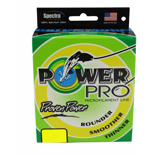 PowerPro Microline Yellow, 500 yds