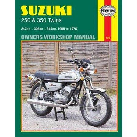 Haynes Suzuki 250 & 350 Twins Owners Workshop Manual : 68-78